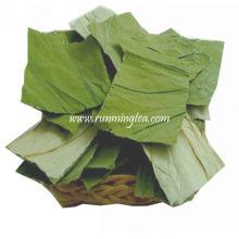 Folha secada do chá da flor de Lotus