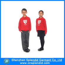 Custom Design Your Own Logo Chinese Elementary School Uniform