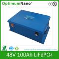 Optimumnano 12V 24V 36V 48V 100ah Lithium Ion Battery