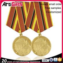 Medalla de encargo única de la insignia del perno de la solapa del metal de los productos promocionales