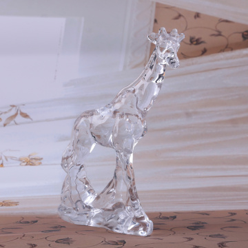 Kristalglasversieringen clear Deer Ornament