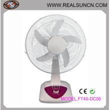 """16 """"ventilador de mesa DC poder super forte, ventilador de mesa recarregável"""