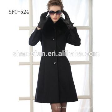 junge Damen Mode-Stil reine Wolle Mäntel
