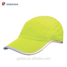 Casque de sécurité de sport de fluorescence de haute visibilité de 360 degrés