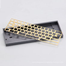 Custom CNC machining mechanical keyboard case plate