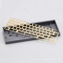 Benutzerdefinierte mechanische Tastaturgehäuseplatte für die CNC-Bearbeitung