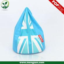 Claro azul claro goteo / caída de agua personalizado beanbags / bolsas de frijoles sofá de esquina