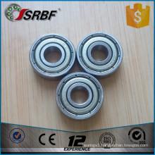 Miniature ball bearings 606zz ball bearings 6*17*6mm deep groove ball bearing