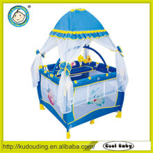 Hot china products wholesale blue baby playpen