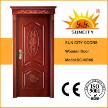 Puerta de madera sólida de alta calidad