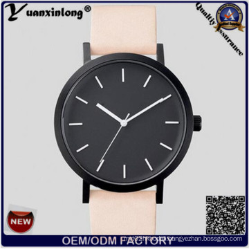 Yxl-317 Black Face Wristwatches Fashion Ladies Watch Leather Strap Hottest The Horse Watch