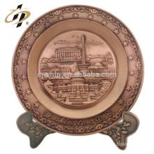 Promotional Washington D.C. souvenirs custom drum set zinc alloy souvenir building plate