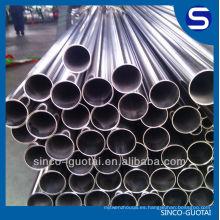 Precio de fábrica del tubo soldado con autógena del acero inoxidable 304 316