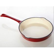Cast Iron Enamel Fry Pan,25cm