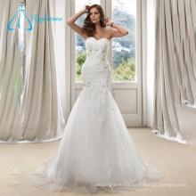 Crystal Sequined Exclusive Beaded Mermaid Wedding Dress