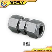 China Flexível 2 polegadas de aço inoxidável união tubulação encaixe