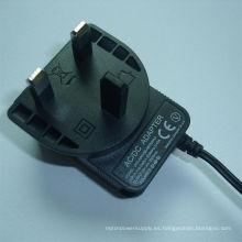 12V1000mA UK BS Plug Adaptador de corriente