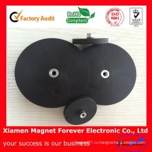 Постоянные Спеченные неодимовый Магнит с резиновым покрытием