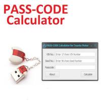 Pasa la calculadora del código para la herramienta de desarrollo de Lexus Scion de Toyota 11.00.019