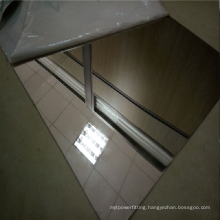 Mirror finished 316 0.7mm stainless steel sheet