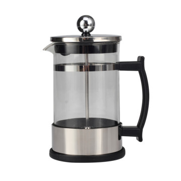 Human Mechanics Handle Design Glass French Press