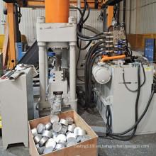 Virutas de aluminio Virutas de virutas Máquina de briquetas hidráulicas