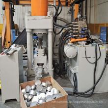 Aluminiumspäne Späne Drehungen Hydraulische Brikettiermaschine