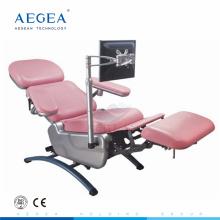 Motor eléctrico lujoso AG-XD104 para la silla de la colección de la sangre del ajuste