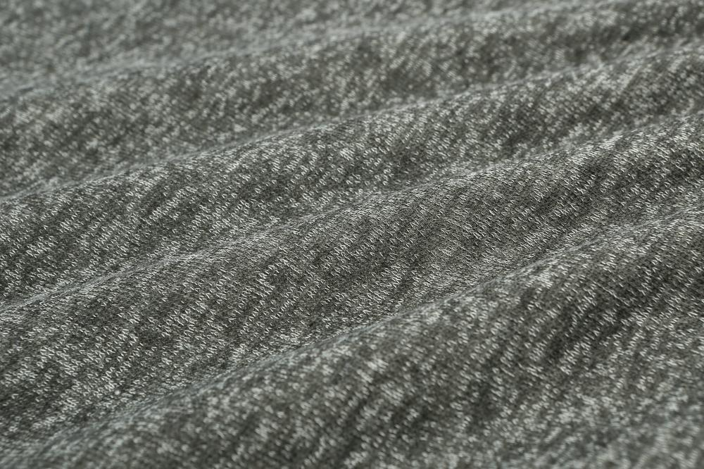 knit one side brushed fleece fabric