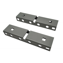 Aluminum alloy wire slot for cabinet