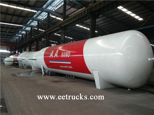 LPG Mounted Storage Bullet Tanks