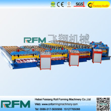 FX colored metal roofing tile