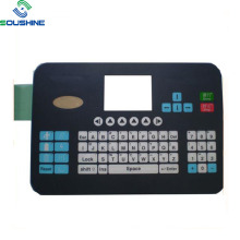 Interruptor de membrana de botón de teclado de computadora