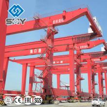 RMG rail mounted container grúa pórtico precios, fabricante de China
