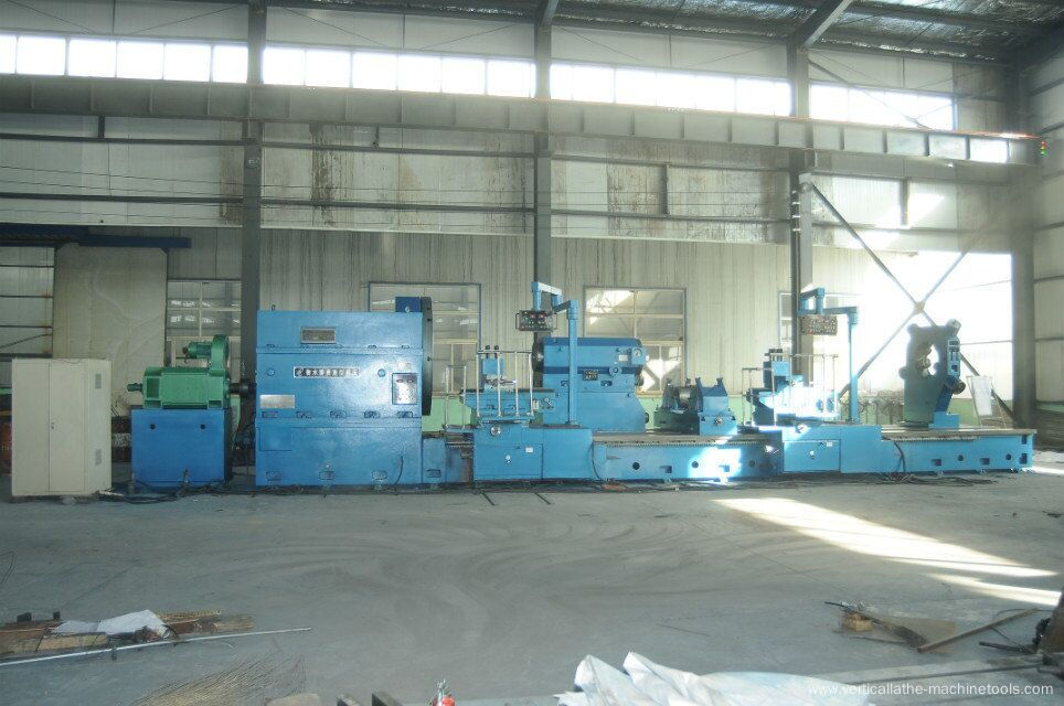 Large diameter CNC parallel lathe machine