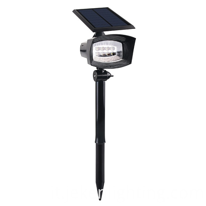 Solar Led Spotlight for Rooftop Advertising