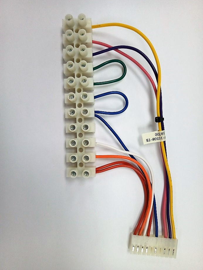 Terminal Block Wire Harness