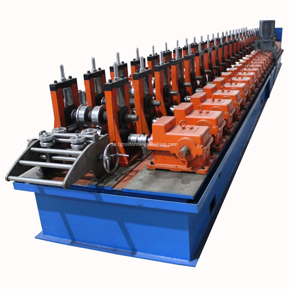 Galvaniserad Racking Solar Panel Roll Forming Machine