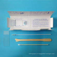 Medical gynecological Pap smear kit
