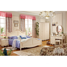Ensemble de meubles de chambre classique de luxe de qualité (HF-MG603)