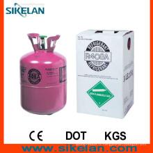 Système de réfrigération utilisant le gaz réfrigérant mixte R408A