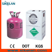 Refrigeration System Using R408A Mixed Refrigerant Gas