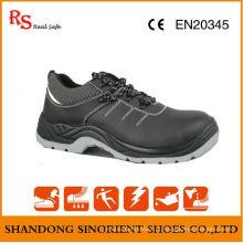 Calçados de segurança do trabalhador com ponta de aço e placa de aço RS044