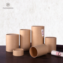 Custom kraft paper tea packaging