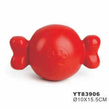 Wholesale playing soft rubber dog toy
