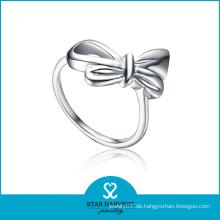 Schöner Plain 925 Sterling Silber Ring für Mädchen (SH-R0130)