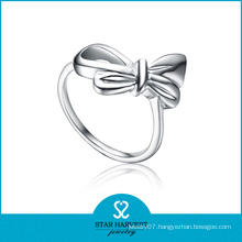 Flower Shaped Plain 925 Sterling Ring (SH-R0130)
