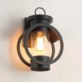 Black Outdoor Led Wall Lamp