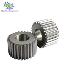 Engranaje estándar de acero inoxidable en stock