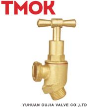 desenho de alta pressão do conjunto do vapor da personalização escondido com a válvula de parada de bronze da roda de mão